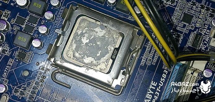 تعویض CPU