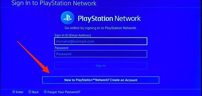 اکانت کاربری PS5