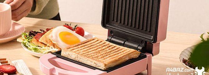 علت روشن نشدن ساندویچ ساز چیست؟