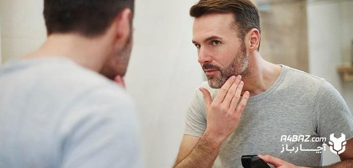بررسی پوست صورت پیش از اصلاح