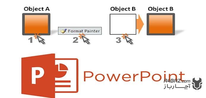 استفاده از Format painter در پاورپوینت