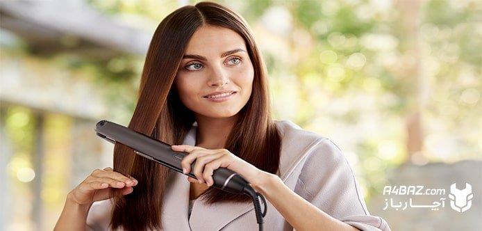 انواع اتو مو مناسب با جنس مو