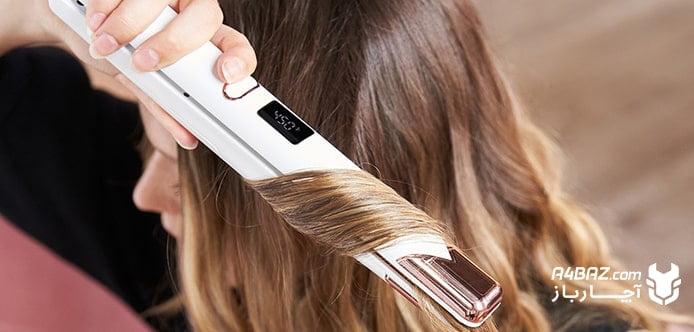 انتخاب اتو مو بر اساس سایز و پهنای کفی