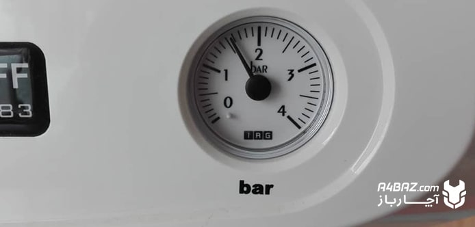 افت فشار آب پکیج