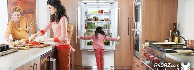 آشنایی با قطعات یخچال و طرز کار آنها