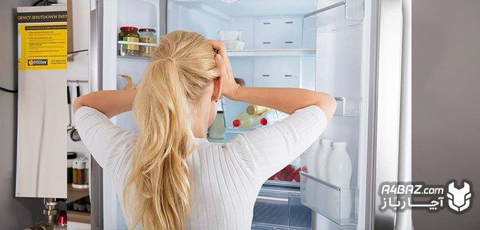 خنک نشدن و سرد نکردن یخچال