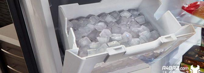نحوه ی تعویض یخساز یخچال با درب فرانسوی